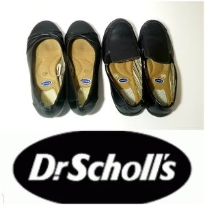 Dr scholl's loafers x 2